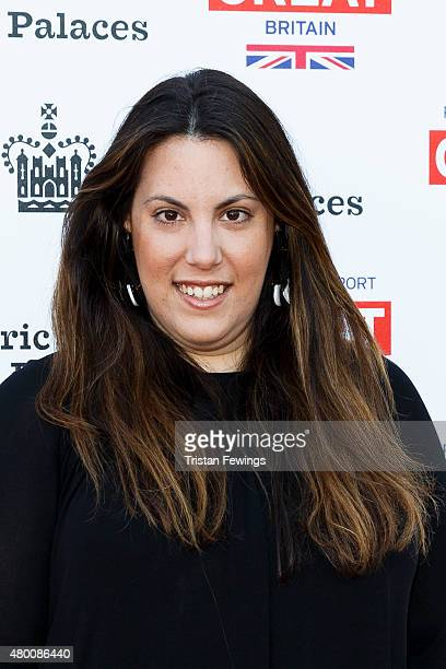 Mary Katrantzou attends the Kensington Palace Summer Gala at Kensington Palace on July 9 2015 in London England