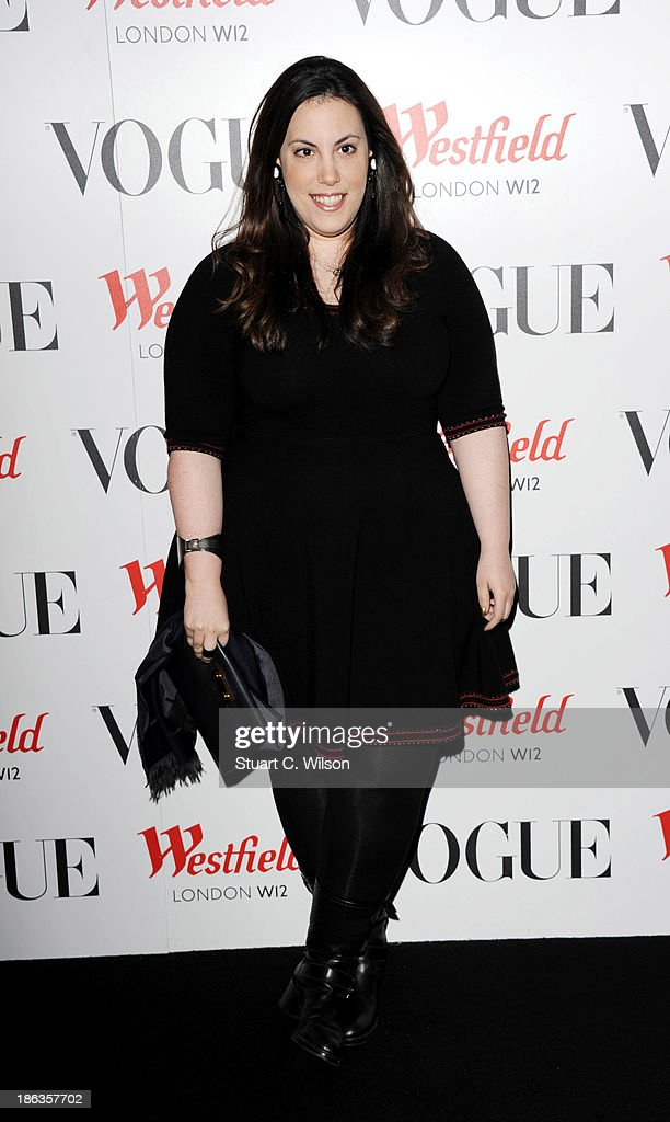 Mary Katrantzou attends the launch of the Vogue Pop Up Club as part of Westfield London's 5th birthday celebrations at Westfield on October 30, 2013 in London, England.