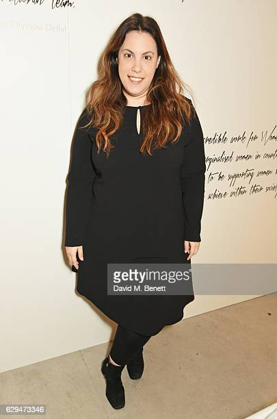 Mary Katrantzou attends the VIP launch of #SheInspiresMe Fashion a limited edition designer collaboration in aid of Women For Women International at...