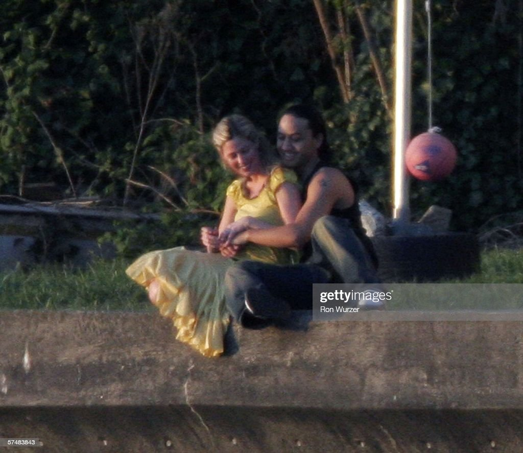 Mary Kay Letourneau and Vili Fualaau during a photo shoot at her beach front home April 27, 2006 in Normandy Park, Washington. Letourneau spent more than seven years in jail for having sex with Vili Fualaau when he was her 12-year old student. The two will celebrate their one-year wedding anniversary on May 20, 2006.