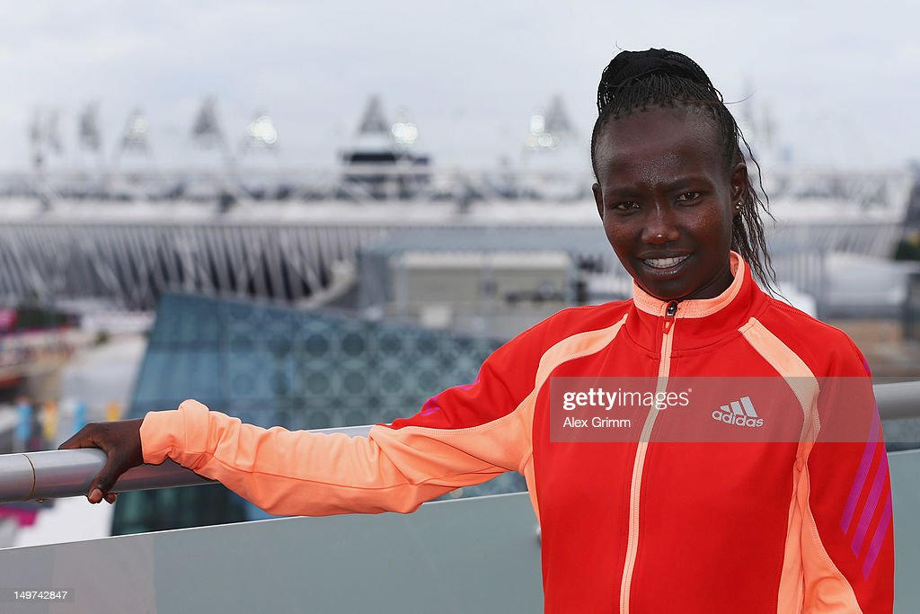 <a gi-track='captionPersonalityLinkClicked' href=/galleries/search?phrase=Mary+Keitany&family=editorial&specificpeople=6487309 ng-click='$event.stopPropagation()'>Mary Keitany</a> of Kenya at the adidas Olympic Media Lounge at Westfield Stratford City on August 3, 2012 in London, England.