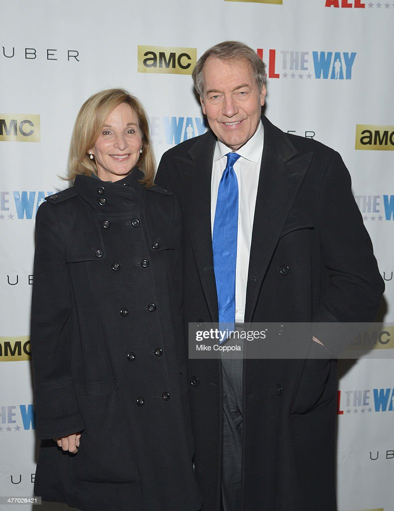 <a gi-track='captionPersonalityLinkClicked' href=/galleries/search?phrase=Mary+King&family=editorial&specificpeople=2183214 ng-click='$event.stopPropagation()'>Mary King</a> and husband/Television talk show host <a gi-track='captionPersonalityLinkClicked' href=/galleries/search?phrase=Charlie+Rose&family=editorial&specificpeople=535420 ng-click='$event.stopPropagation()'>Charlie Rose</a> attend 'All The Way' opening night at Neil Simon Theatre on March 6, 2014 in New York City.