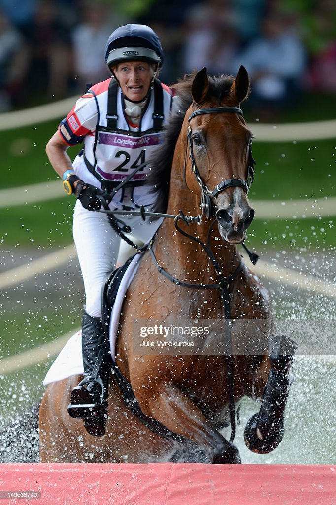 Mary King of Great Britain on Imperial Cavalier competes in the Cross Country phase of the Eventing competition on Day 3 of the 2012 London Olympic Games at Greenwich Park on July 30, 2012.