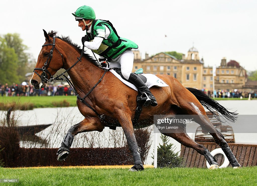 <a gi-track='captionPersonalityLinkClicked' href=/galleries/search?phrase=Mary+King&family=editorial&specificpeople=2183214 ng-click='$event.stopPropagation()'>Mary King</a> of Great Britain rides Imperial Cavalier during the Cross Country Test on day three of the Badminton Horse Trials on May 2, 2010 in Badminton, England.