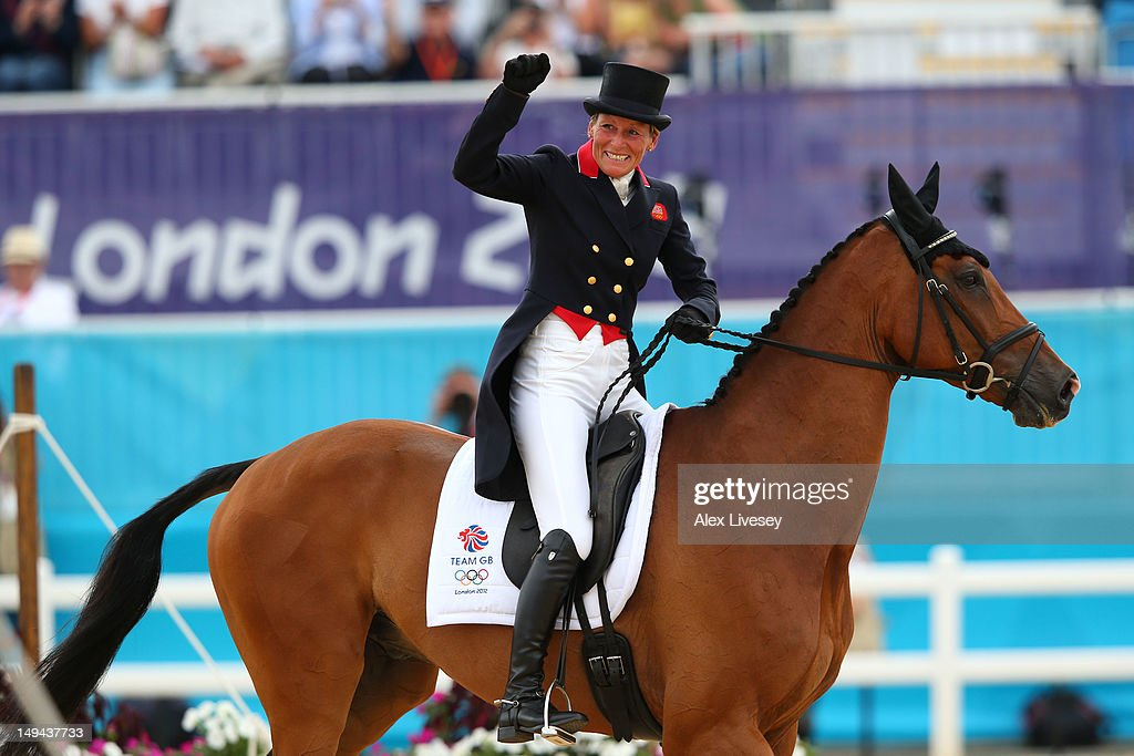 <a gi-track='captionPersonalityLinkClicked' href=/galleries/search?phrase=Mary+King&family=editorial&specificpeople=2183214 ng-click='$event.stopPropagation()'>Mary King</a> of Great Britain riding Imperial Cavalier competes in the Dressage Equestrian event on Day 1 of the London 2012 Olympic Games at Greenwich Park on July 28, 2012 in London, England.
