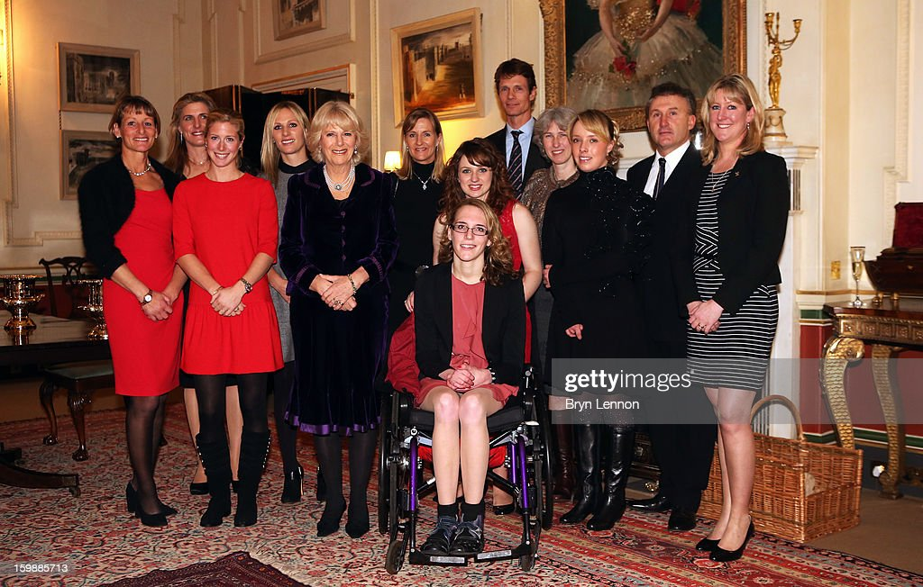 Mary King Tina Cook Laura Bechtolsheimer Zara Phillips Camilla Duchess of Cornwall Tina Fletcher Natasha Baker Sophie Christiansen William FoxPitt...