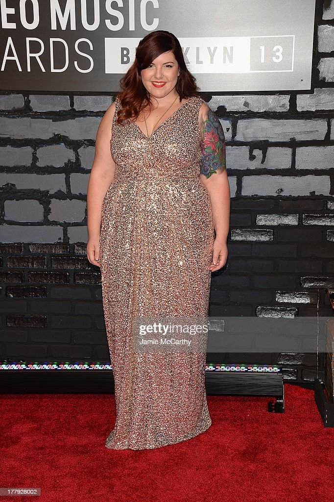 Mary Lambert attends the 2013 MTV Video Music Awards at the Barclays Center on August 25, 2013 in the Brooklyn borough of New York City.