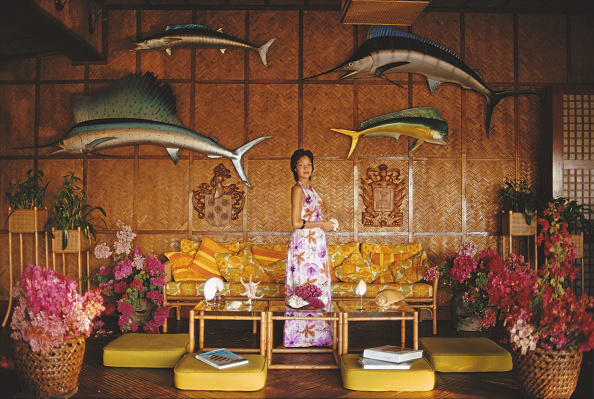Mary Lau Toda's private island in the Philippines November 1973
