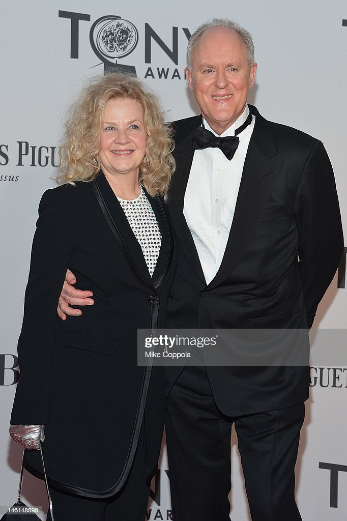 Mary Lithgow and <a gi-track='captionPersonalityLinkClicked' href=/galleries/search?phrase=John+Lithgow&family=editorial&specificpeople=202537 ng-click='$event.stopPropagation()'>John Lithgow</a> attend the 66th Annual Tony Awards at The Beacon Theatre on June 10, 2012 in New York City.