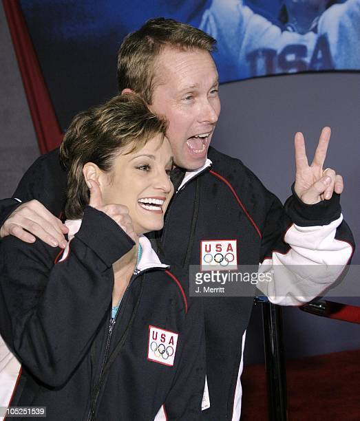 Mary Lou Retton during 'Miracle' Los Angeles Premiere at The El Capitan Theatre in Hollywood California United States