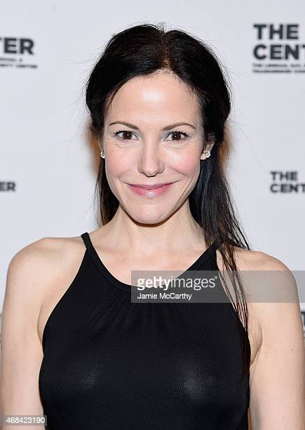 Mary Louise Parker attends The 2015 Center Dinner at Cipriani Wall Street on April 2 2015 in New York City