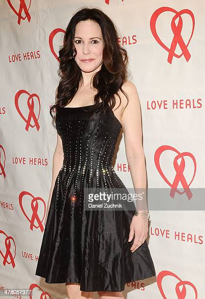 Mary Louise Parker attends the Love Heals 2014 Gala at Four Seasons Restaurant on March 11 2014 in New York City