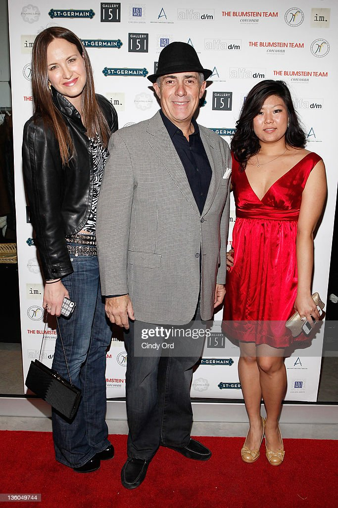 Mary Louise Perlman, Michael Namer, and Jenny Kim attend the 2011 Hope for Them Foundation Holiday Toy drive at Gallery 151 on December 17, 2011 in New York City.