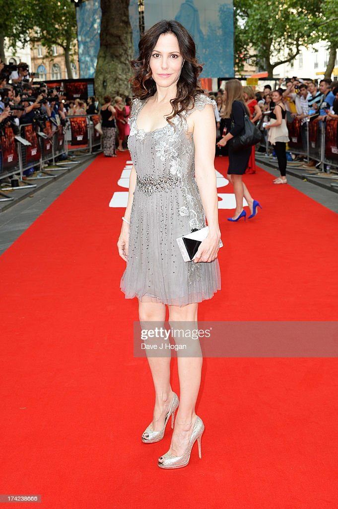 Mary Louise-Parker attends the European premiere of 'Red 2' at The Empire Leicester Square on July 22, 2013 in London, England.