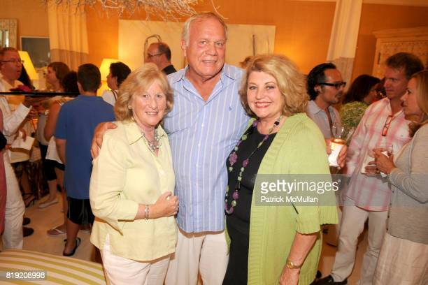 Mary Lynch Roy Ostrom and Barbara Ostrom attend 2010 Hampton Designer Showhouse Kickoff Party hosted by HB Home at HB Home on July 10 2010 in East...