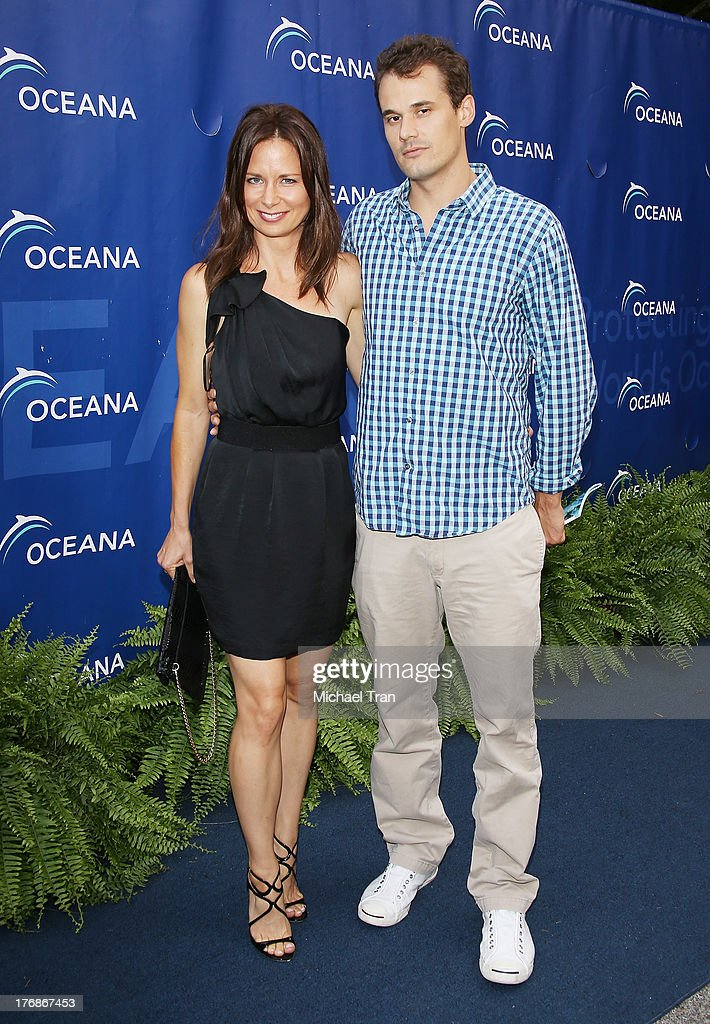<a gi-track='captionPersonalityLinkClicked' href=/galleries/search?phrase=Mary+Lynn+Rajskub&family=editorial&specificpeople=545522 ng-click='$event.stopPropagation()'>Mary Lynn Rajskub</a> (L) and Matthew Rolph arrive at the 6th Annual Oceana's Annual SeaChange Summer Party held at a private residence on August 18, 2013 in Laguna Beach, California.