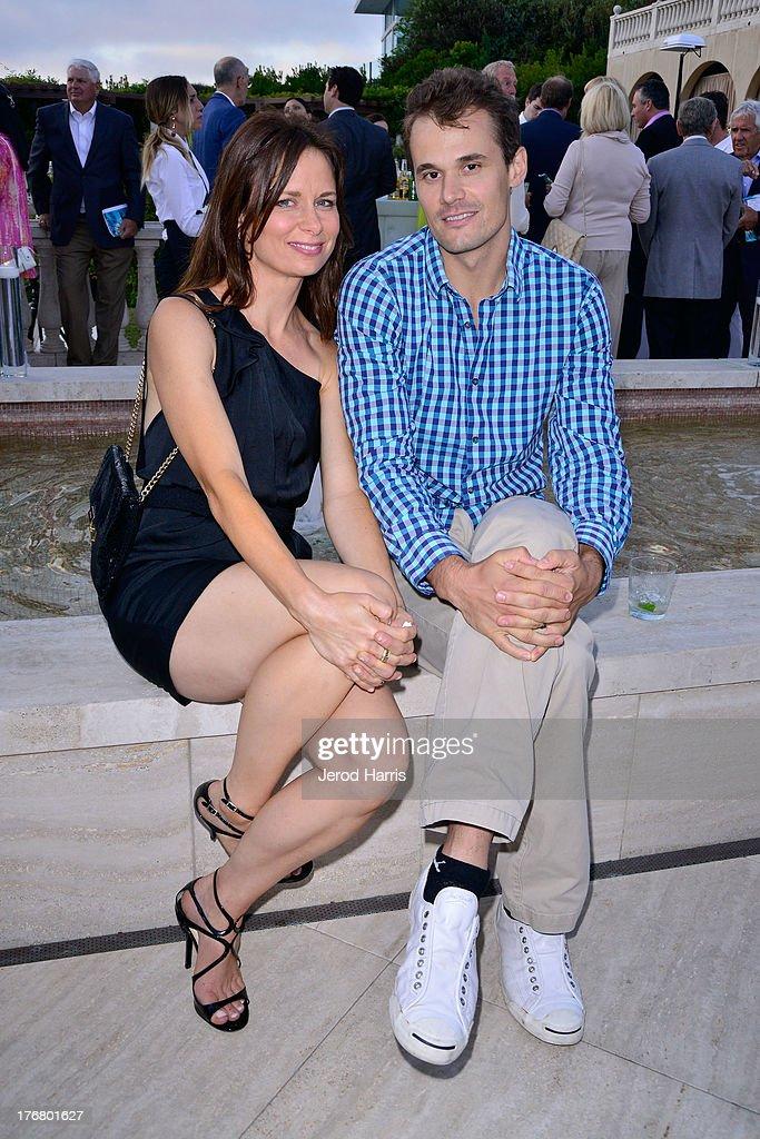 Mary Lynn Rajskub and Matthew Rolph attend the 6th annual Oceana's SeaChange summer party on August 18, 2013 in Laguna Beach, California.