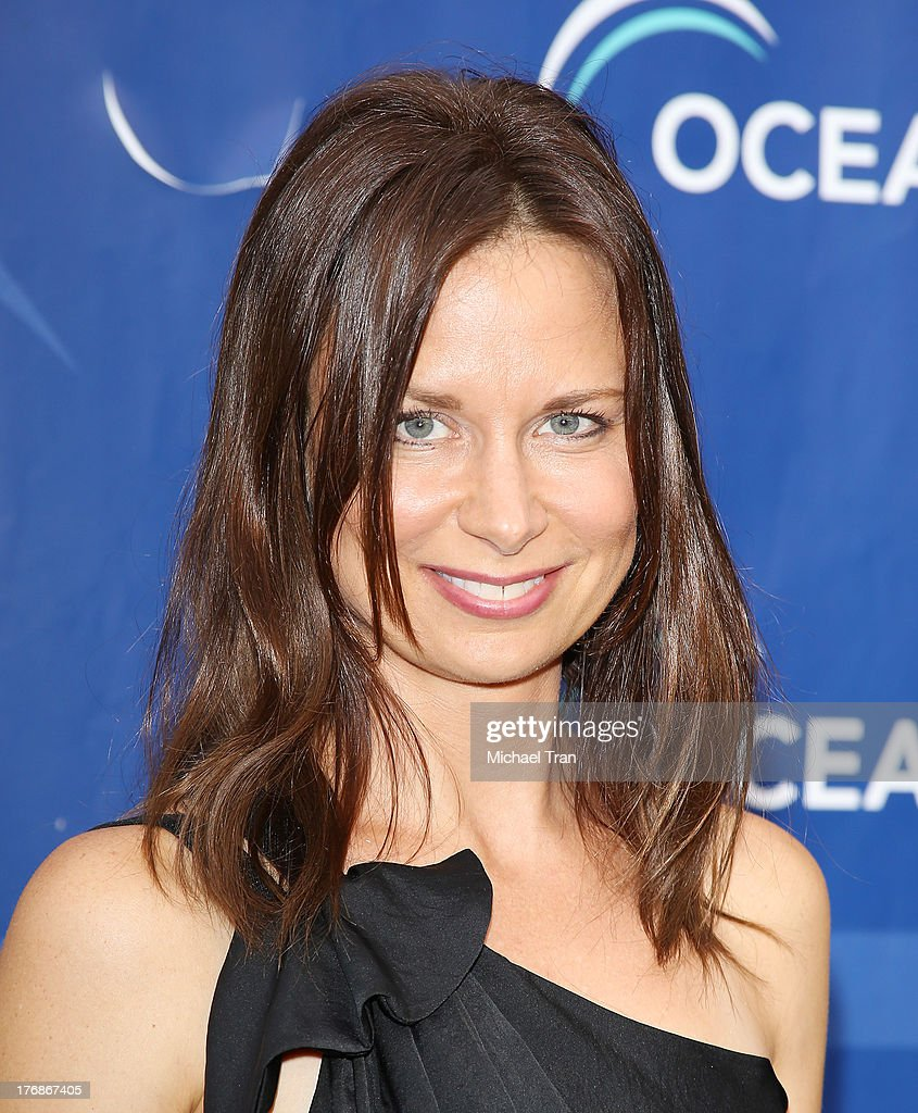 Mary Lynn Rajskub arrives at the 6th Annual Oceana's Annual SeaChange Summer Party held at a private residence on August 18, 2013 in Laguna Beach, California.