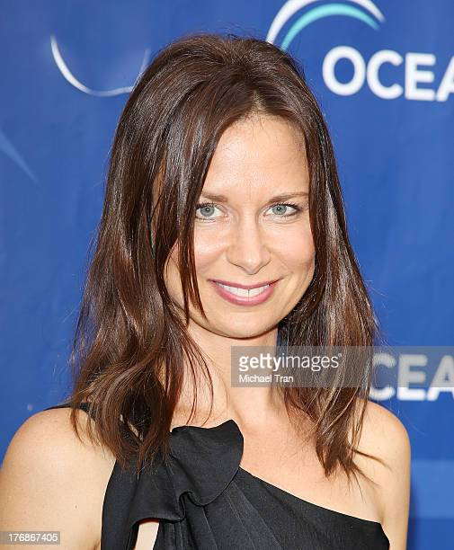 Mary Lynn Rajskub arrives at the 6th Annual Oceana's Annual SeaChange Summer Party held at a private residence on August 18 2013 in Laguna Beach...
