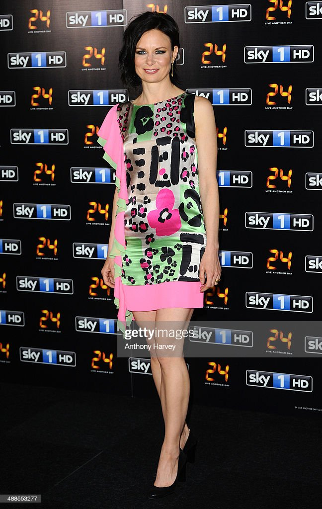 Mary Lynn Rajskub attends the UK premiere of '24: Live Another Day' at Old Billingsgate Market on May 6, 2014 in London, England.