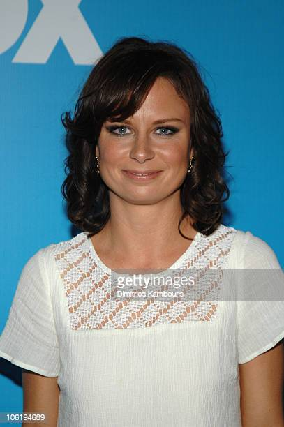 Mary Lynn Rajskub during 2007 FOX UpFront Arrivals at Wollman Rink in Central Park in New York City New York United States