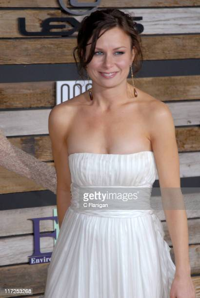 Mary Lynn Rajskub during EMA E Golden Green Party at 9900 Wilshire Blvd in Beverly Hills California United States
