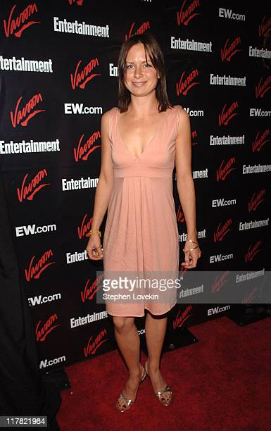 Mary Lynn Rajskub during Entertainment Weekly/Vavoom 2007 Upfront Party Red Carpet at The Box in New York City New York United States