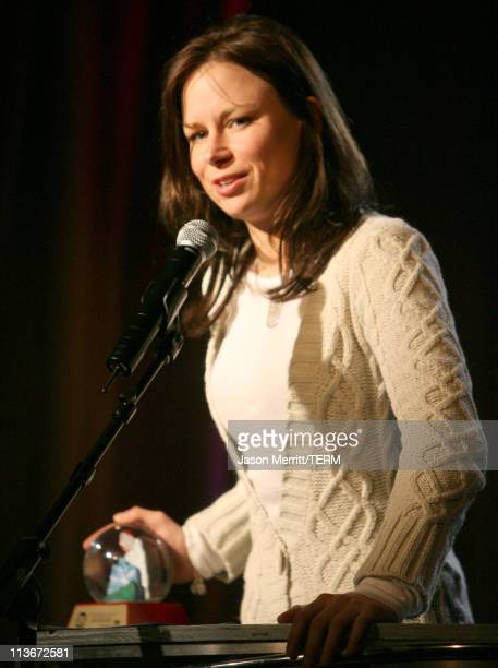 Mary Lynn Rajskub during HBO's 13th Annual US Comedy Arts Festival Festival Awards Presentation at Belly Up in Aspen Colorado United States