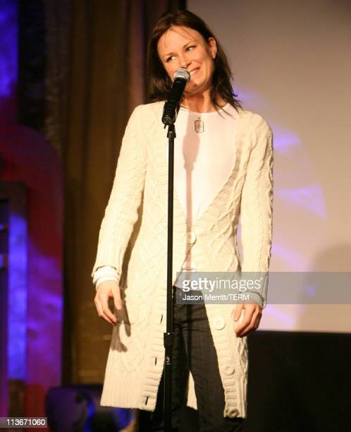Mary Lynn Rajskub during HBO's 13th Annual US Comedy Arts Festival The Moth When Worlds Collide at Belly Up in Aspen Colorado United States