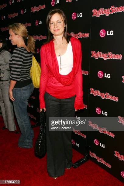 Mary Lynn Rajskub during Rolling Stone Magazine Celebrates their 2006 Annual Hot List Red Carpet at Stone Rose in Los Angeles California United States