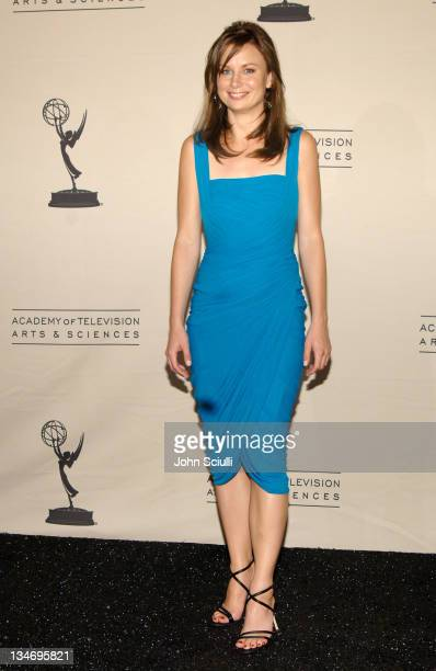 Mary Lynn Rajskub presenter during 58th Annual Creative Arts Emmy Awards Press Room at Shrine Auditorium in Los Angeles California United States