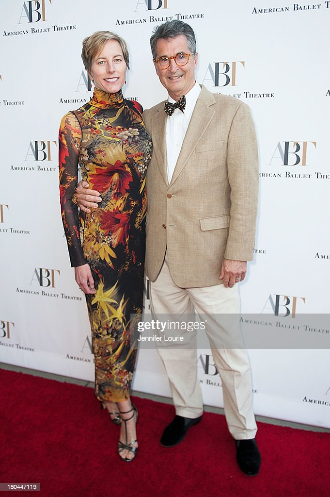 Mary M. Wilson and Jefferson B. Riley arrive at the American Ballet Theatre's Annual Fundraiser 'Stars Under the Stars: An Evening in Los Angeles' at private residence on September 12, 2013 in Beverly Hills, California.