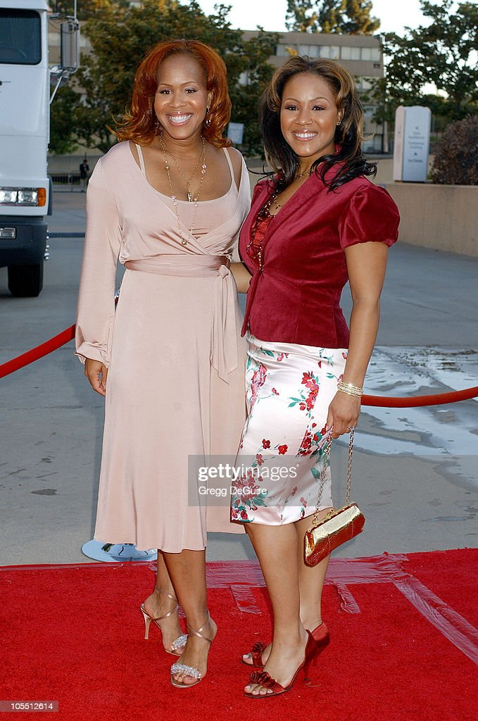 Mary Mary during 10th Annual Soul Train Lady of Soul Awards Arrivals at Pasadena Civic Auditorium in Pasadena California United States