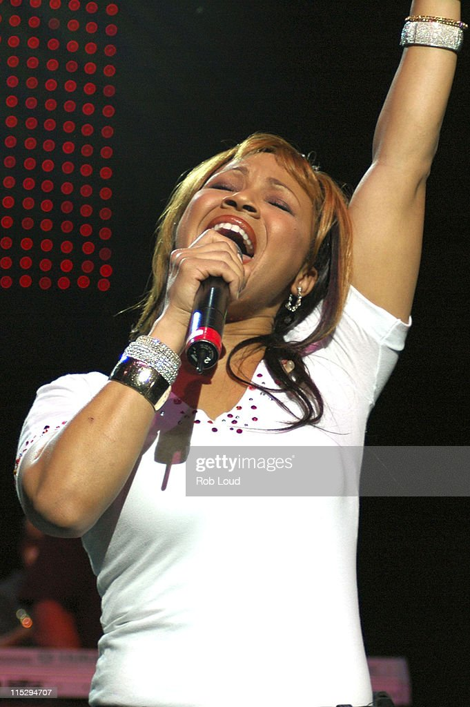 Mary Mary during Mary Mary in Concert at Radio City Music Hall in New York City April 22 2006 at Radio City Music Hall in New York City New York...