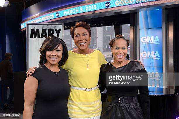 AMERICA Mary Mary performs on GOOD MORNING AMERICA 3/5/15 airing on the ABC Television Network