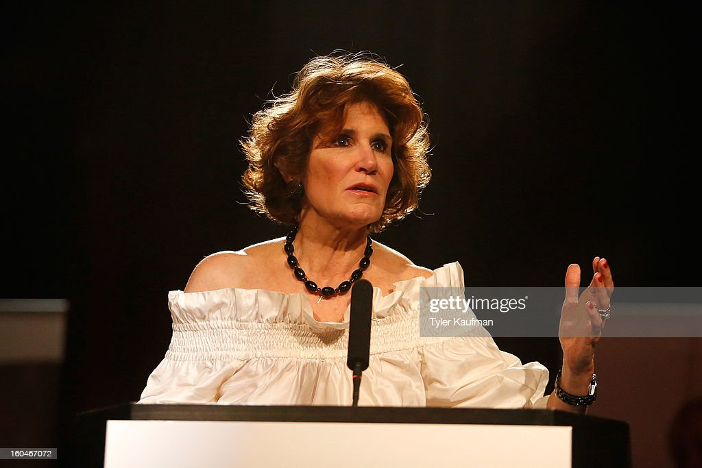 <a gi-track='captionPersonalityLinkClicked' href=/galleries/search?phrase=Mary+Matalin&family=editorial&specificpeople=803285 ng-click='$event.stopPropagation()'>Mary Matalin</a> attends the 2013 Legends For Charity Dinner Honoring Archie Manning at the Hyatt Regency New Orleans on January 31, 2013 in New Orleans, Louisiana.