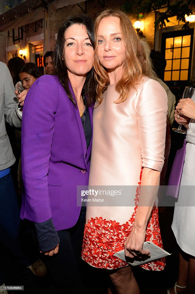 Mary McCartney and Stella McCartney attend the Stella McCartney Spring 2014 Collection Presentation at West 10th Street on June 10, 2013 in New York City.