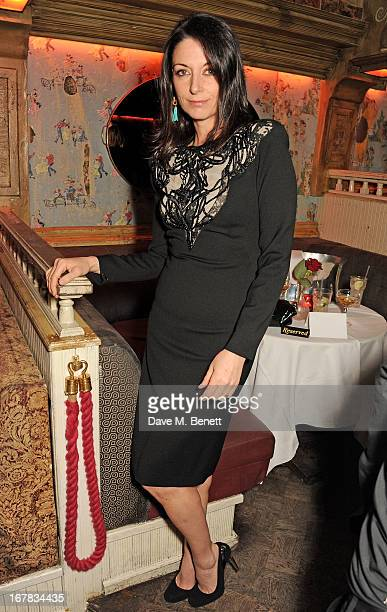 Mary McCartney attends Fran Cutler's surprise birthday party supported by ABSOLUT Elyx at The Box Soho on April 30 2013 in London England