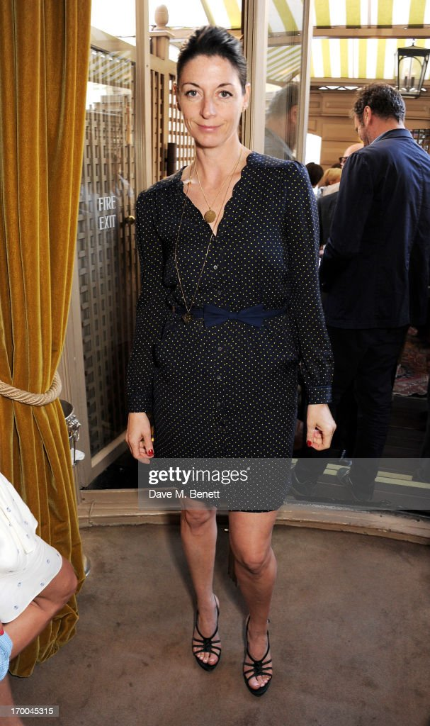 <a gi-track='captionPersonalityLinkClicked' href=/galleries/search?phrase=Mary+McCartney&family=editorial&specificpeople=208098 ng-click='$event.stopPropagation()'>Mary McCartney</a> attends the launch of 'The Eighties: One Day, One Decade' by GQ editor Dylan Jones at Mark's Club on June 6, 2013 in London, England.