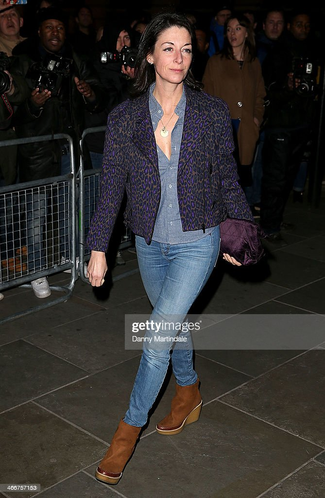 Mary McCartney attends the VIP private view of David Bailey Bailey's Stardust at National Portrait Gallery on February 3 2014 in London England