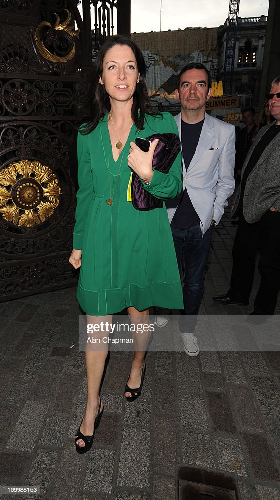 Mary McCartney sighting at The Royal Academy of Arts Summer Exhibition on June 5, 2013 in London, England.