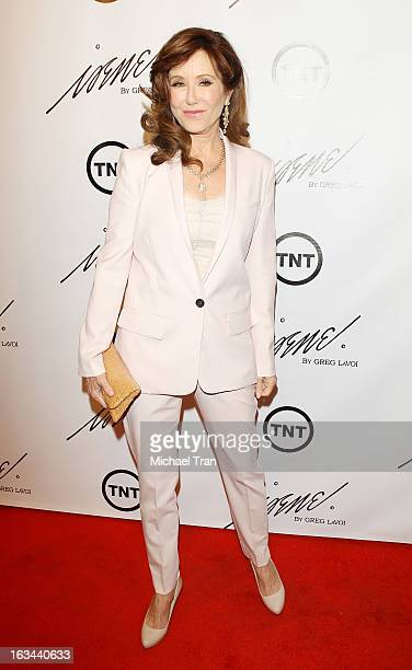 Mary McDonnell arrives at the 2013 Los Angeles Fashion Week The House Of Irene Autumn/Winter 2013 fashion show held at Raleigh Studios on March 9...