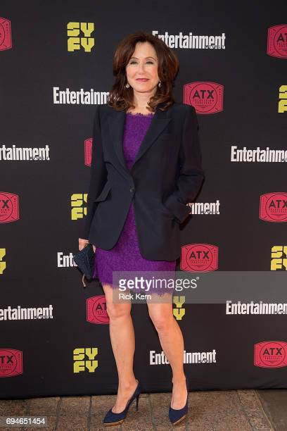 Mary McDonnell attends the closing night reunion panel of Battlestar Galactica and afterparty presented by Entertainment Weekly and SYFY during the...
