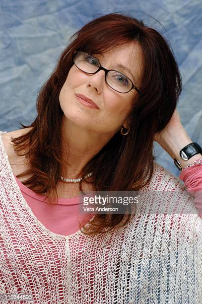 Mary McDonnell during 'Battlestar Galactica' Press Conference with Edward James Olmos and Mary McDonnell at Four Seasons in Beverly Hills California...