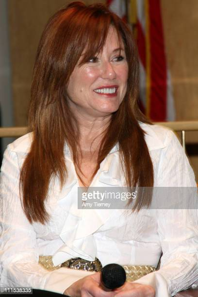 Mary McDonnell during SAG Foundation Q A with Mary McDonnell at SAG in Beverly Hills California United States