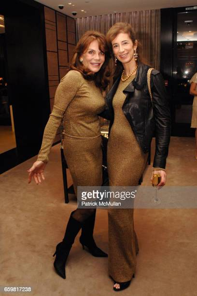 Mary Milner and Erica Kasel attend Chanel Fine Jewelry Beverly Hills Dinner at Chanel Boutique on November 11 2009