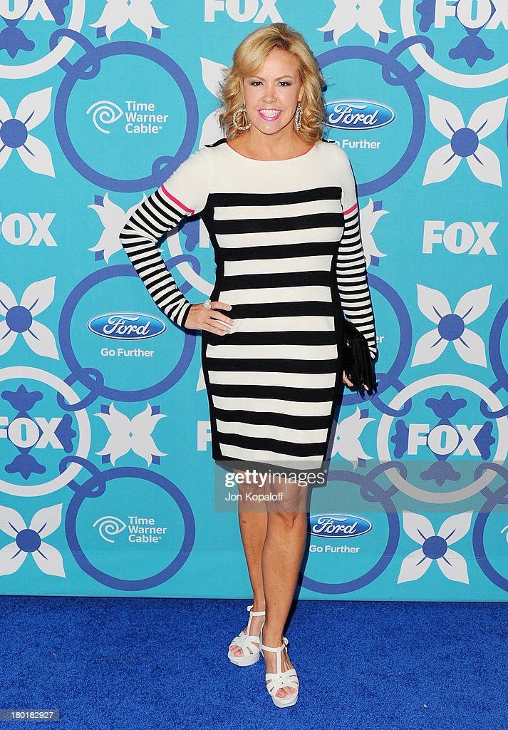Mary Murphy arrives at the 2013 Fox Fall Eco-Casino Party at The Bungalow on September 9, 2013 in Santa Monica, California.