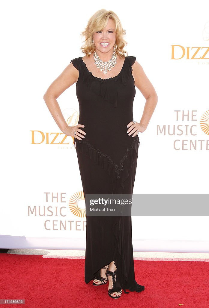 Mary Murphy arrives at the Dizzy Feet Foundation's 3rd Annual Celebration of Dance Gala held at Dorothy Chandler Pavilion on July 27, 2013 in Los Angeles, California.