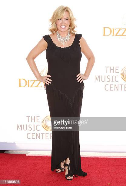 Mary Murphy arrives at the Dizzy Feet Foundation's 3rd Annual Celebration of Dance Gala held at Dorothy Chandler Pavilion on July 27 2013 in Los...