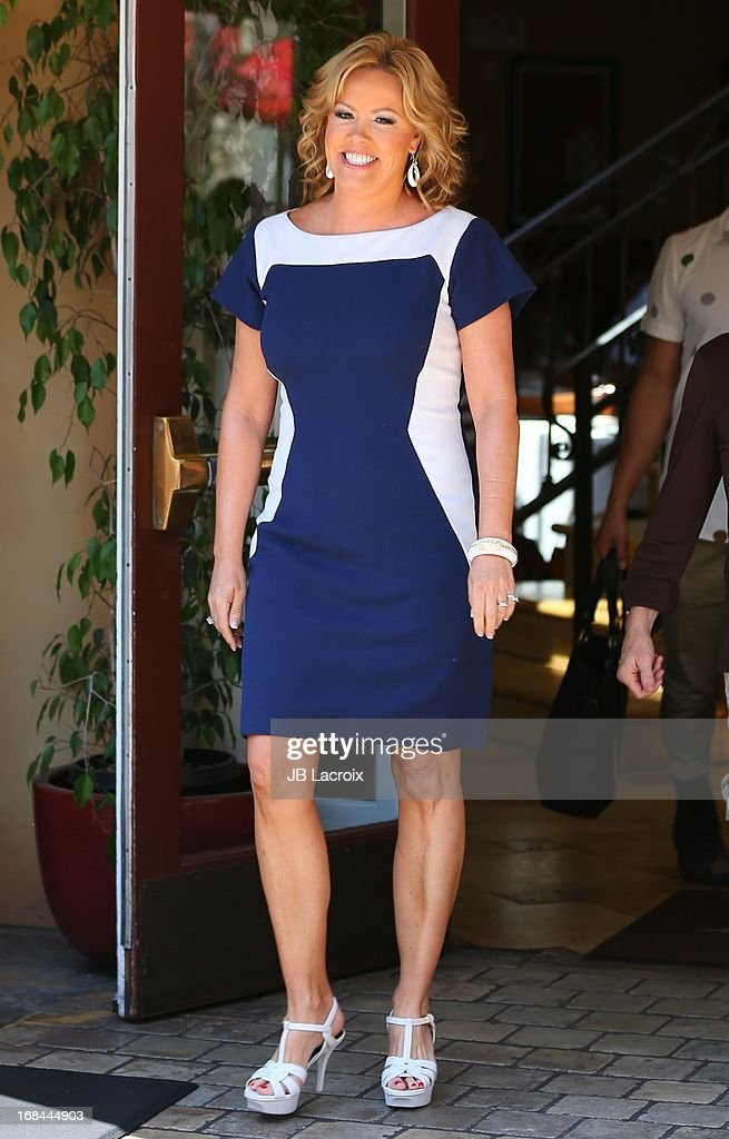 Mary Murphy is seen on May 9, 2013 in Los Angeles, California.